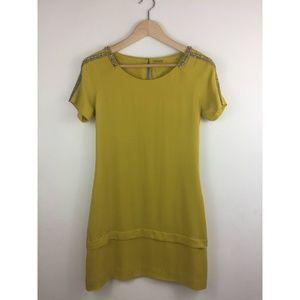 Rebecca Minkoff Dijon Beaded Silk Dress Size 2